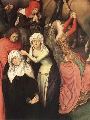 Hans Memling - Passion (Greverade) Altarpiece (detail) 1491