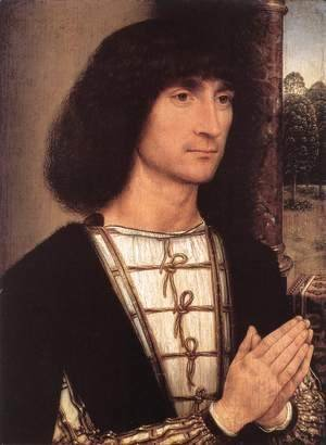 Hans Memling - Portrait of a Young Man 1485-90