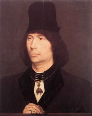 Hans Memling - Portrait of Anthony of Burgundy 1467-70