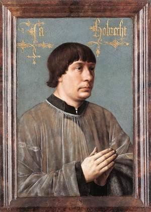 Hans Memling - Portrait of Jacob Obrecht 1496