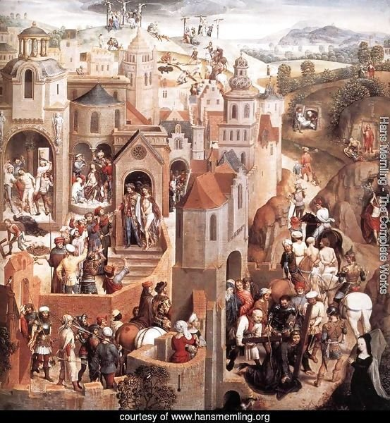 Scenes from the Passion of Christ (detail-1) 1470-71