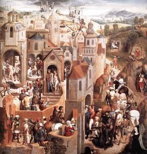 Hans Memling - Scenes from the Passion of Christ (detail-1) 1470-71