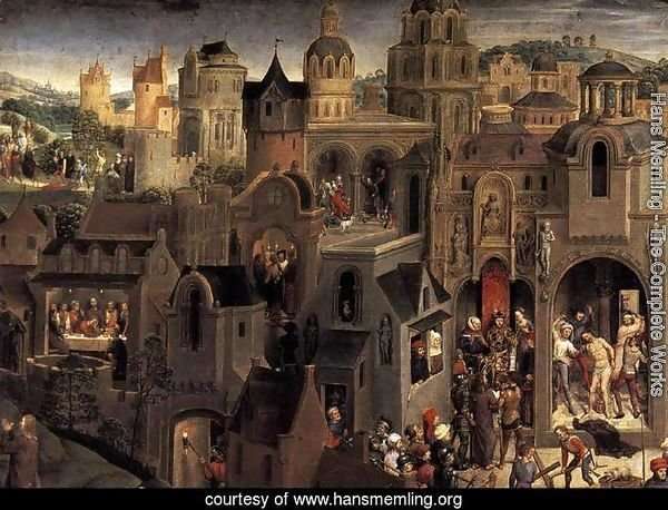 Scenes from the Passion of Christ (detail-2) 1470-71