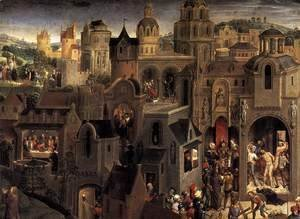Hans Memling - Scenes from the Passion of Christ (detail-2) 1470-71