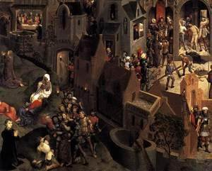 Hans Memling - Scenes from the Passion of Christ (detail-3) 1470-71