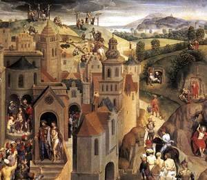 Hans Memling - Scenes from the Passion of Christ (detail-4) 1470-71