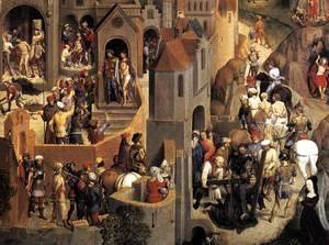 Scenes from the Passion of Christ (detail-5) 1470-71