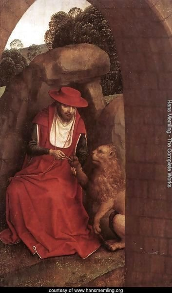 St Jerome and the Lion 1485-90