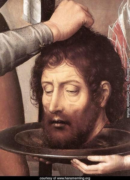 St John Altarpiece (detail-2) 1474-79