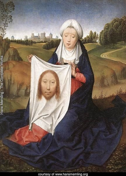 St John and Veronica Diptych (right wing) c. 1483