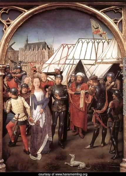 St Ursula Shrine- Martyrdom (scene 6) 1489