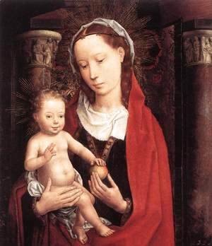 Hans Memling - Standing Virgin and Child c. 1490