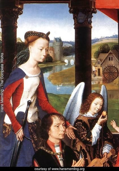 The Donne Triptych (detail-1) 1475