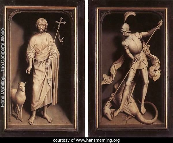 Triptych of the Family Moreel (closed) 1484