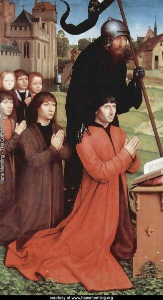Hans Memling - The Complete Works - Triptych of the Family ...