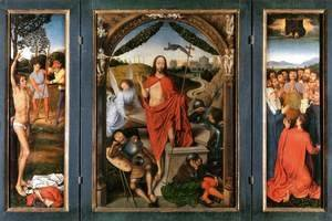 Hans Memling - Triptych of the Resurrection c. 1490