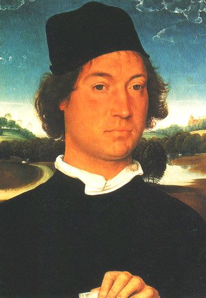 Hans Memling - Portrait of a Man