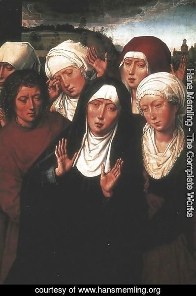 Hans Memling - Holy Women Lamenting with St John the Evangelist