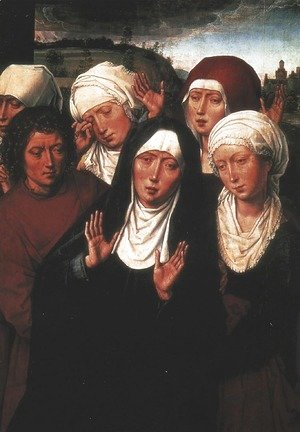 Holy Women Lamenting with St John the Evangelist